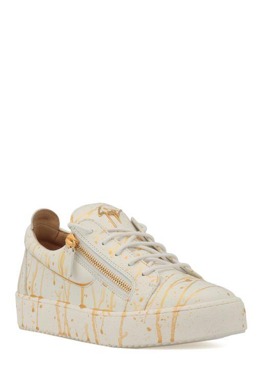 Sneaker con stampa Spot
