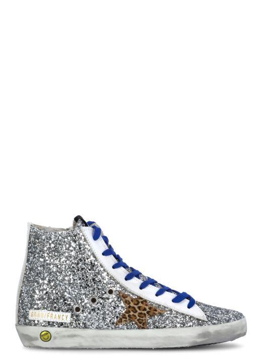 Sneaker Francy con glitter