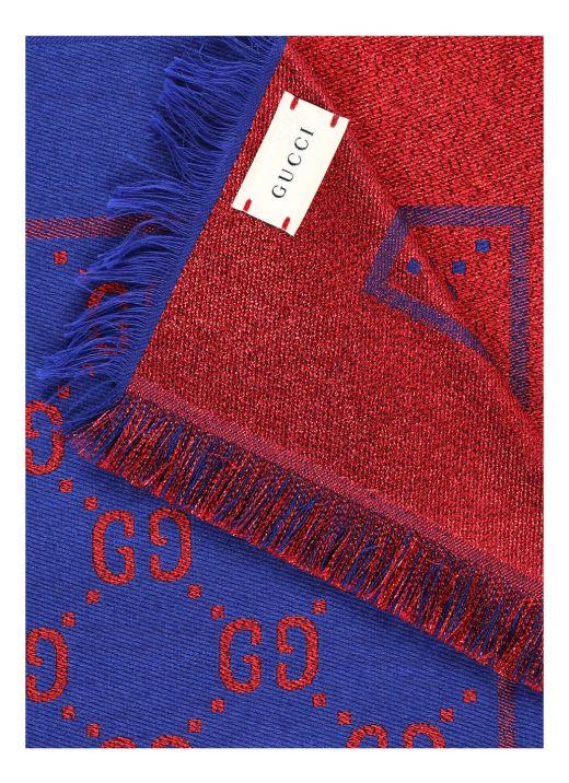 Monogram scarf