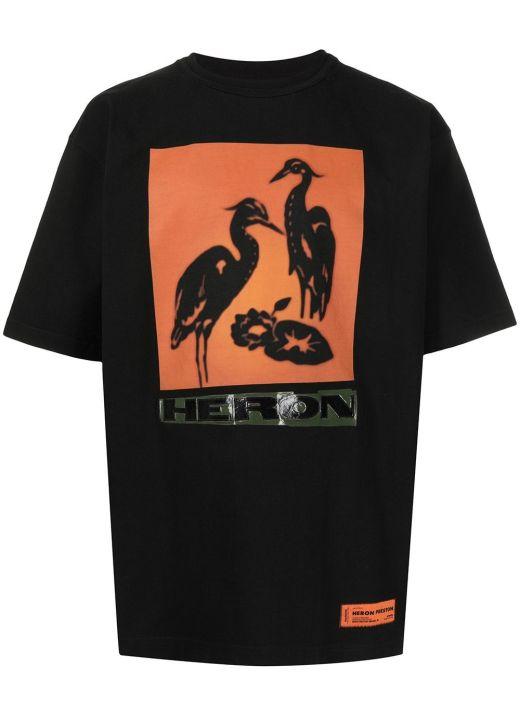 Oversize t-shirt with logo