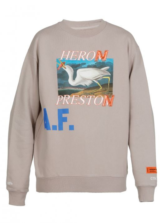Heron A.F. sweatshirt