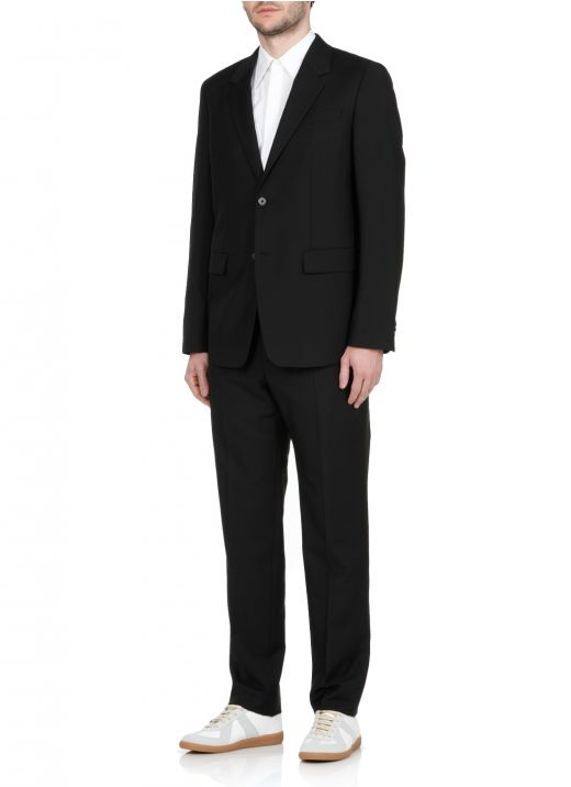 Virgin wool and mohair suit