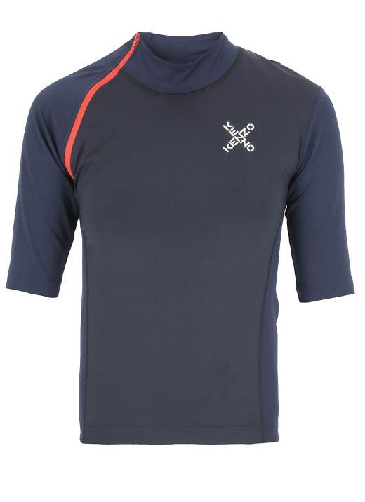 Stretch fabric t-shirt