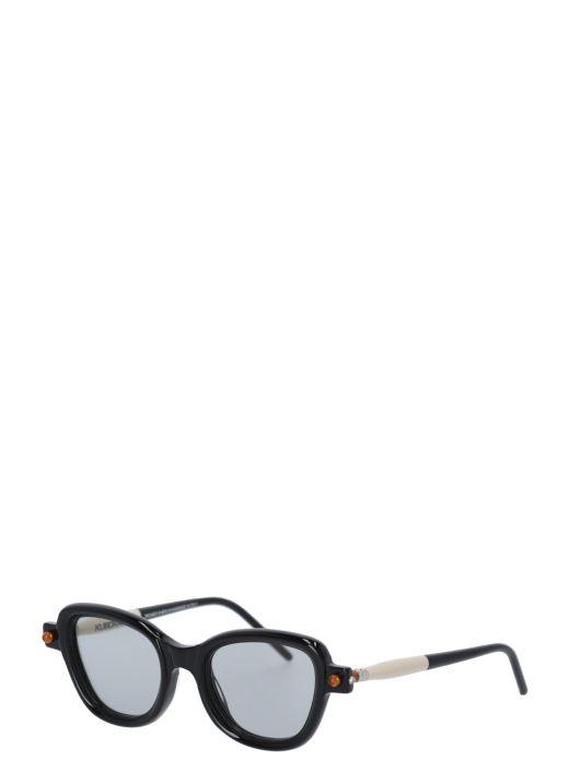 Mask P5 Black shine glasses