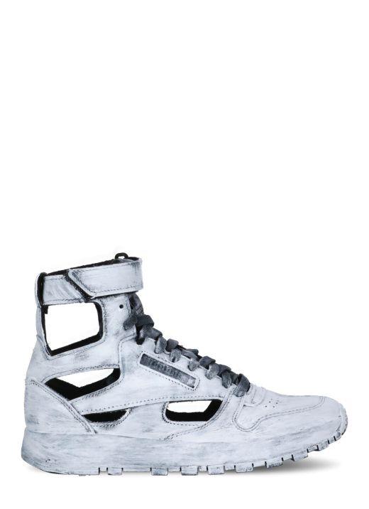 MM x Reebok Project 0 sneaker