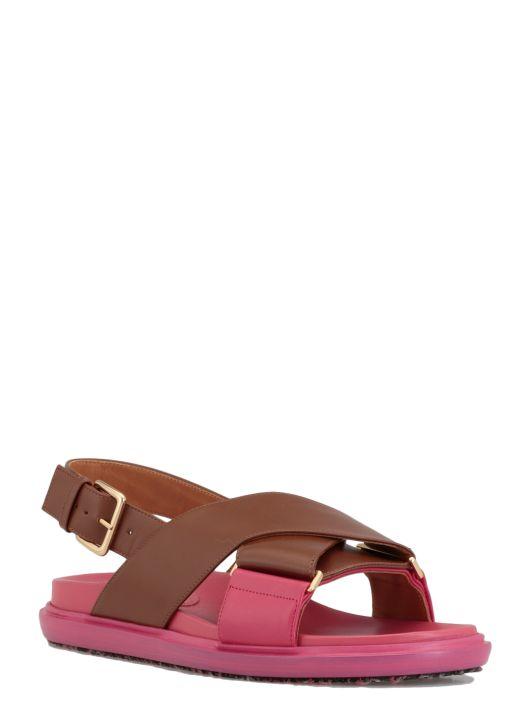Leather fussbett