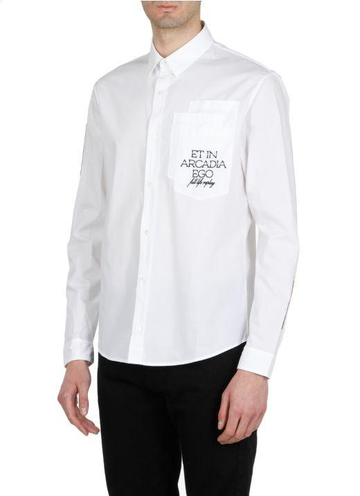 Eden High: Cotton multipocket shirt