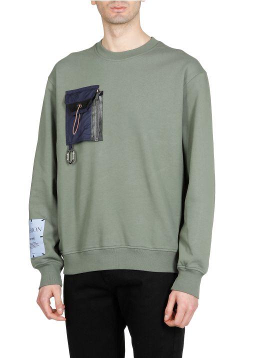 Albion: Tent poncho sweatshirt