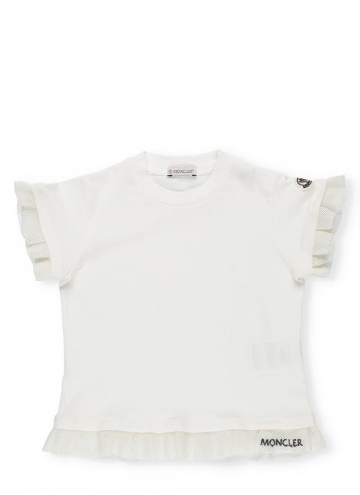 T-shirt with trims