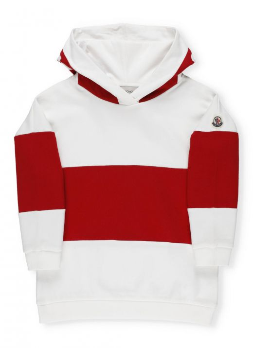 Color block hoodie