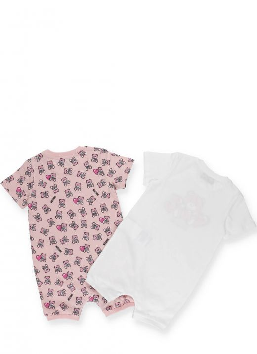 2 cotton baby romper set