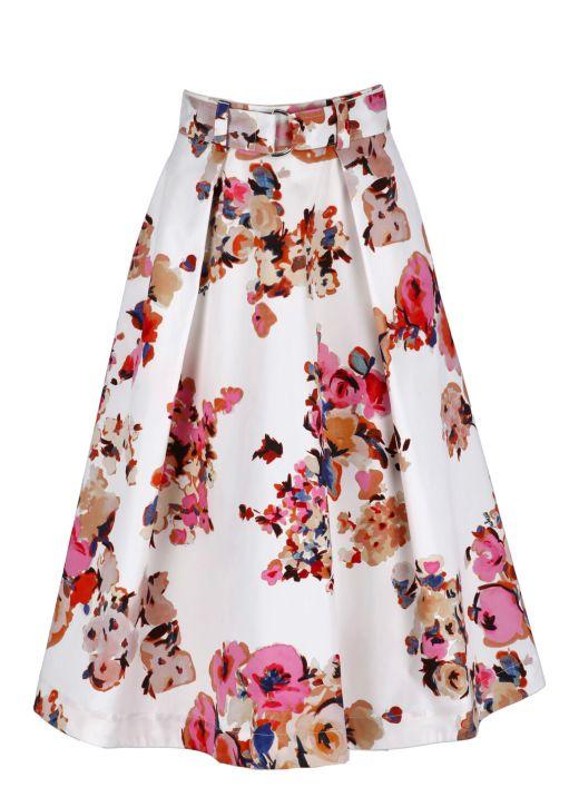 Cotton full skirt
