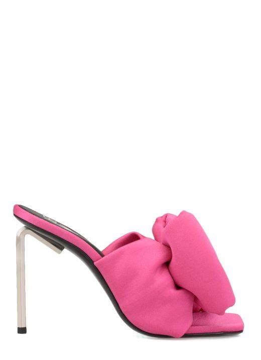 Lycra bow sandal