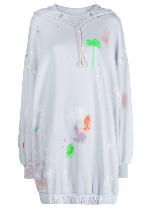 Cotton hoodie dress