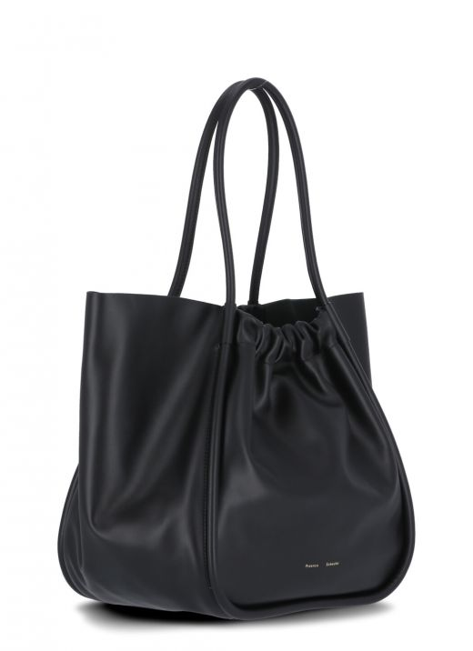 XL Ruched Tote Bag