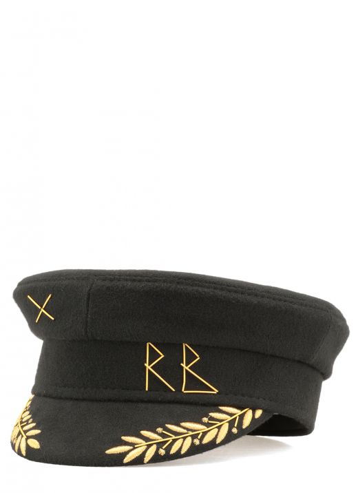 Cappello in lana con ricamo Warcore