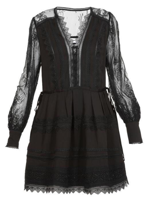 Lace Mini Dress
