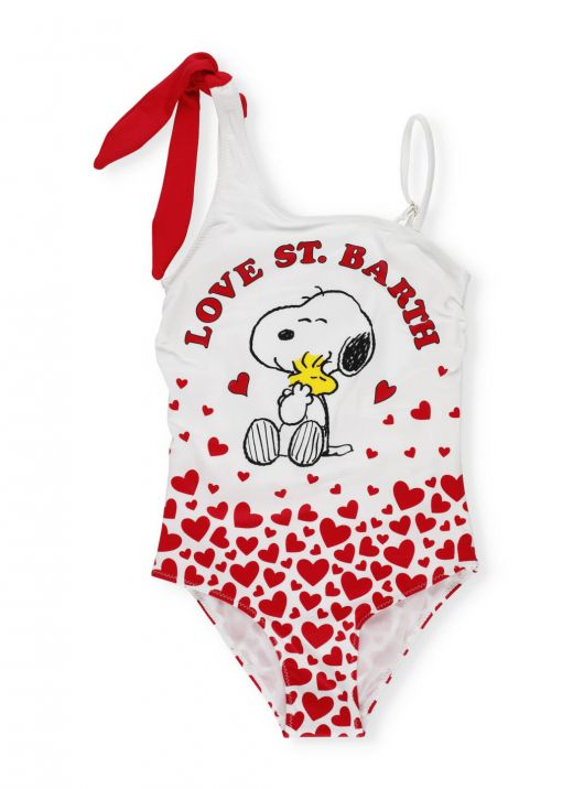 Snoopy love swimsuit