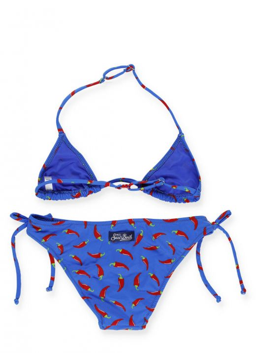 Bikini con stampa Chili