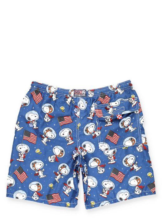 Costume da bagno Snoopy Space