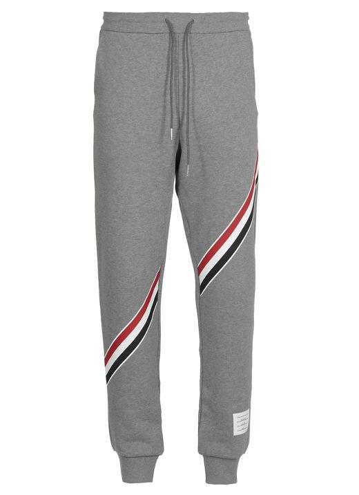 Pantalone con righe RWB